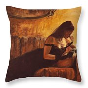 Tacere Throw Pillow