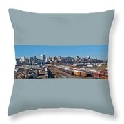 Tacoma City Wide View Throw Pillow