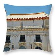 Tacoma Elks Club Throw Pillow