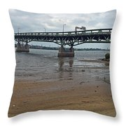 Tacony Palmyra Bridge Throw Pillow