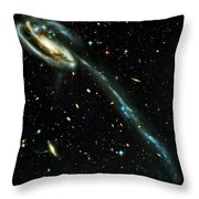 Tadpole Galaxy Throw Pillow by Jennifer Rondinelli Reilly - Fine Art Photography