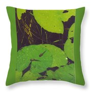 Tadpoles Throw Pillow