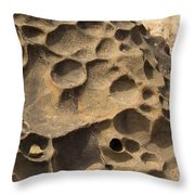 Tafoni Throw Pillow