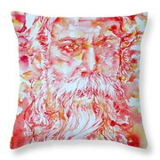 Tagore Throw Pillow
