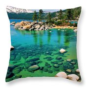 Tahoe Bliss Throw Pillow