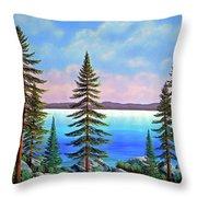 Tahoe Pines Throw Pillow