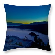 Tahoe Sunrise Throw Pillow