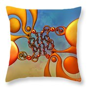 Taijitu Throw Pillow