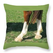 Tail End Throw Pillow