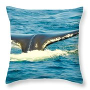 Tail From The Deep Throw Pillow