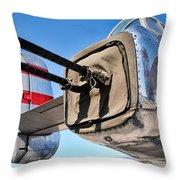 Tail Gunner Throw Pillow