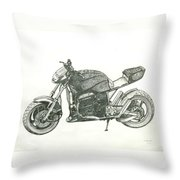 Tail In The Air Throw Pillow