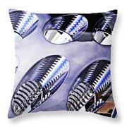 Tail Light Detail Throw Pillow