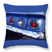 Tail Lights And Fenders Throw Pillow