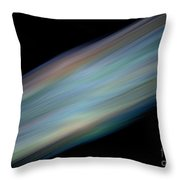Tail Of A Comet Throw Pillow