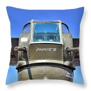 Tail Turret Throw Pillow