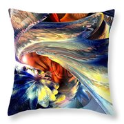 Tailed Beast Abstract Throw Pillow