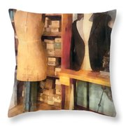 Tailor - A Pair Of Dummies Throw Pillow