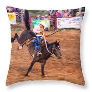 Tailspin Throw Pillow