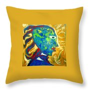 Taino Influence Throw Pillow