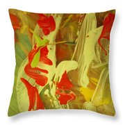 Tainted Heart Throw Pillow
