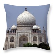 Taj Mahal - Agra - India  Throw Pillow