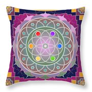 Tajha 2012 Throw Pillow