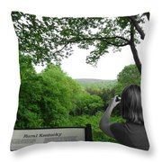 Take A Picture Throw Pillow