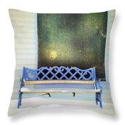 Take A Seat Throw Pillow by Priska Wettstein