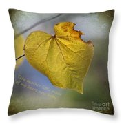 Take Another Little Piece Of My Heart Throw Pillow