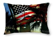 Take Back America Throw Pillow