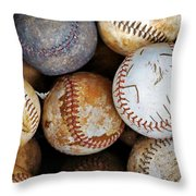 Take Me Out To The Ball Game Throw Pillow