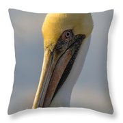 Take My Best Side Throw Pillow