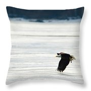 Take Out Duck Throw Pillow