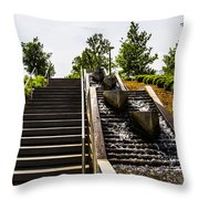 Take The Stairs Or... Throw Pillow