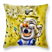 Take Your Best Shot Throw Pillow by Colleen Kammerer