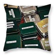 Take Your Pick - Tea Photography By William Patrick And Sharon Cummings Throw Pillow