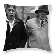 Taken For Slander  Throw Pillow