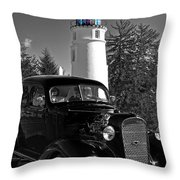 Taking A Drive Throw Pillow