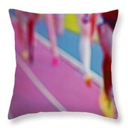 Taking First By Jrr Throw Pillow