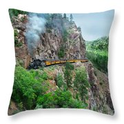 Taking The Highline Home Throw Pillow