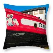 Taku Chief Throw Pillow