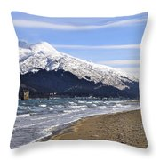 Taku Winds Throw Pillow