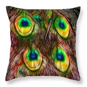 Tale Of A Tail Throw Pillow
