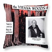 Tales From The Vienna Woods Throw Pillow