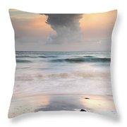 Talisker Bay At Sunset Throw Pillow
