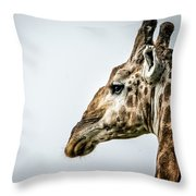 Tall And Vigilant Throw Pillow