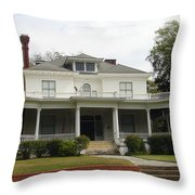 Tall Chimney House Throw Pillow