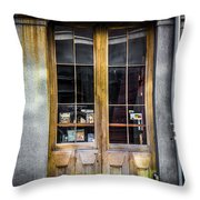 Tall Doors Throw Pillow
