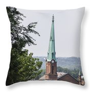 Tall Troy Steeple Throw Pillow